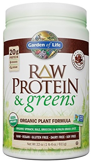 Garden of Life Greens and Protein Powder