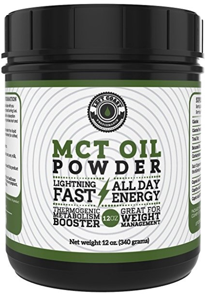 Left Coast Performance MCT Oil Powder from Coconuts
