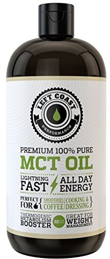 Left Coast Performance Premium Coconut MCT Oil