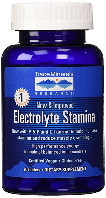 Trace Minerals - Electrolyte Stamina Tablets