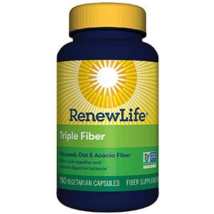Renew Life Triple Fiber Adult Fiber Supplement